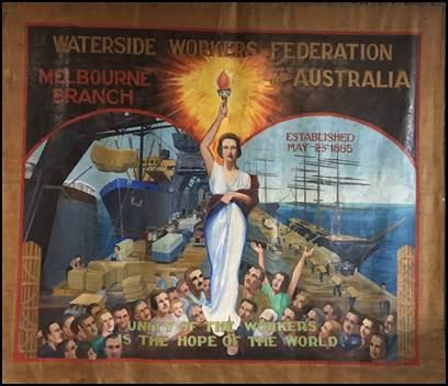 Waterside Workers Federation Banner