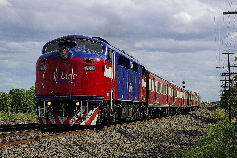 Diesel locomotive A60, Peter Sweetten, Seymour Railway Heritage Centre Inc.