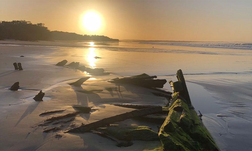 Amazon shipwreck Inverloch