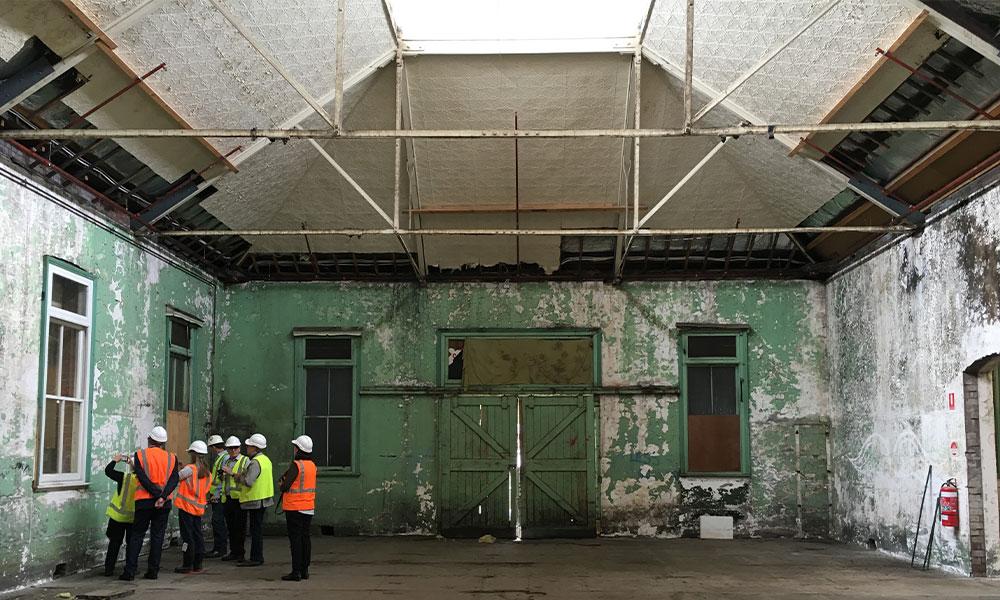 Abbotsford Convent internal works
