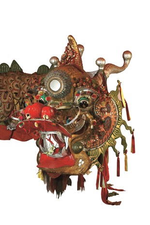 Image of the dragon Loong believed to be the oldest imperial dragon in the world